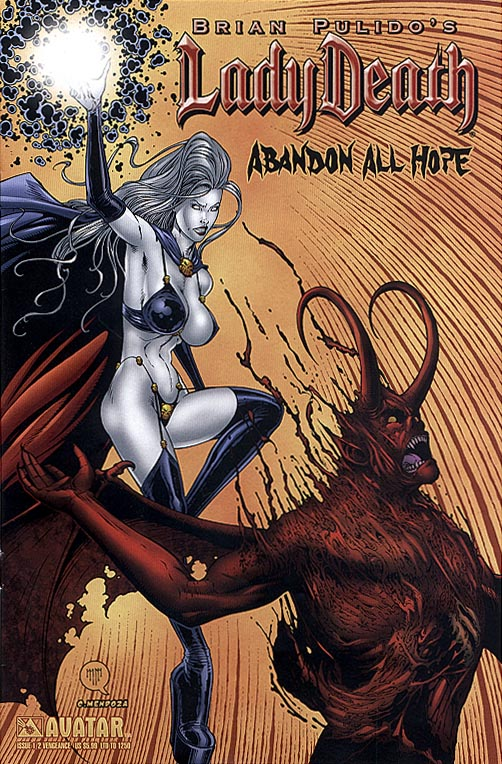 Lady Death Abandon All Hope one-half (Vengeance Cvr 1 of 1250 )