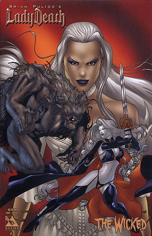 Lady Death The Wicked 1 (Richard Ortiz Conflict Cvr)