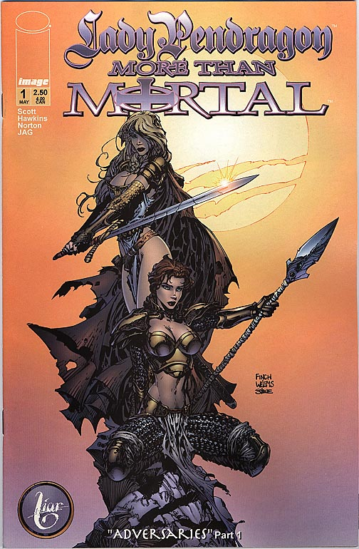 Lady Pendragon More Than Mortal 1 ( 1 in 5 Incentive Finch Variant)