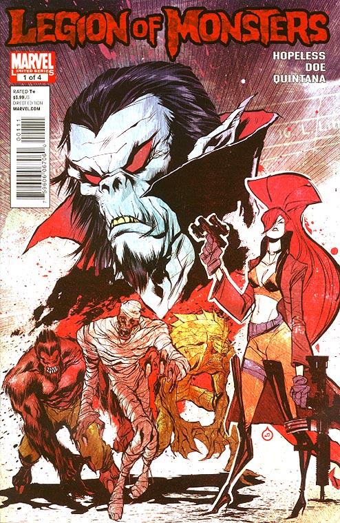 Legion Of Monsters 1 (of 4 )