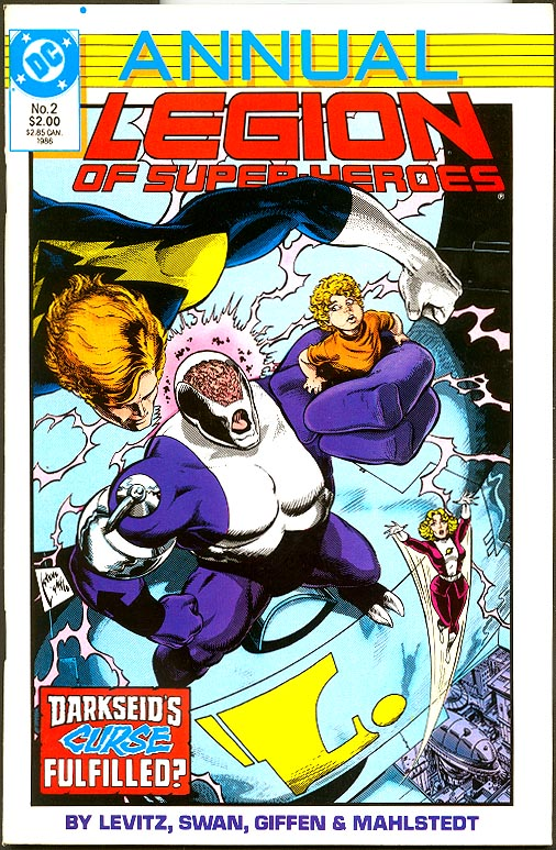Legion Of Super-Heroes Annual vol 3 - 2
