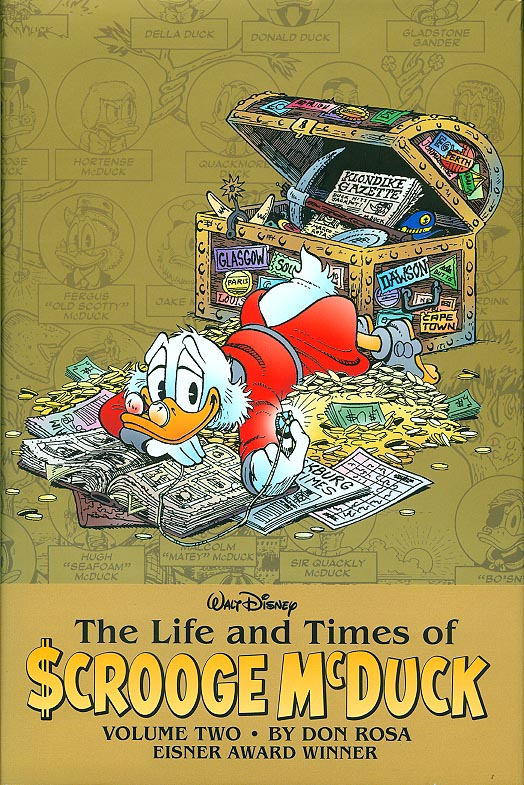 Life and Times of Scrooge Mc Duck Volume 2 HC