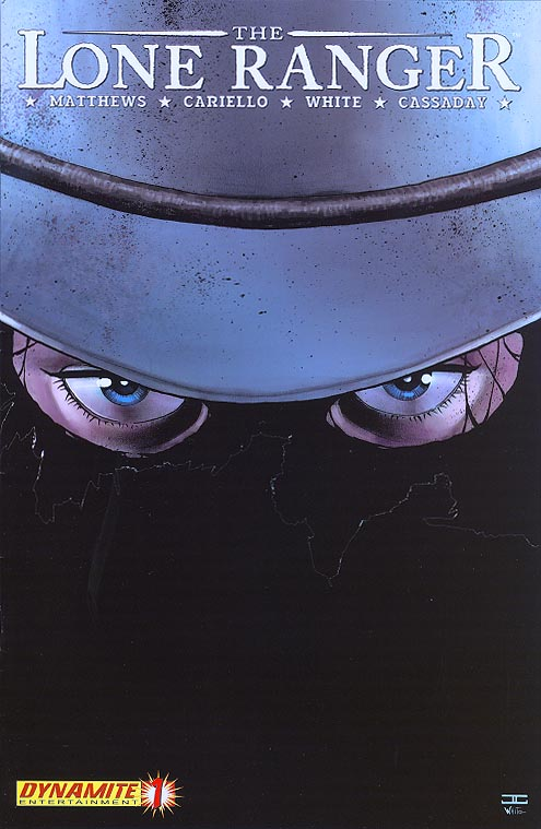 Lone Ranger (Dynamite) 1 ( 1 in 15 Incentive John Cassaday Variant)