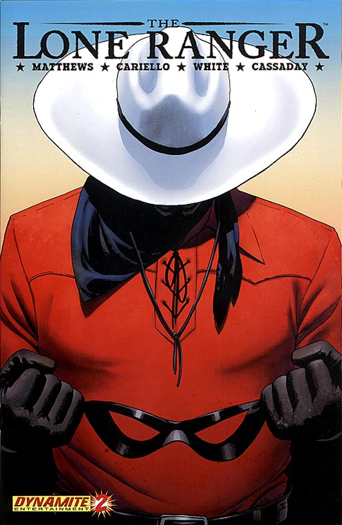 Lone Ranger (Dynamite) 2 (First Printing)
