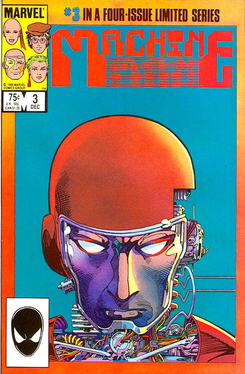 Machine Man vol 2 - 3 (of 4 )