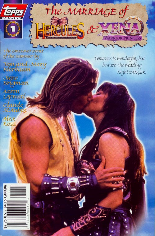 Marriage of Hercules And Xena 1 (Photo Variant)