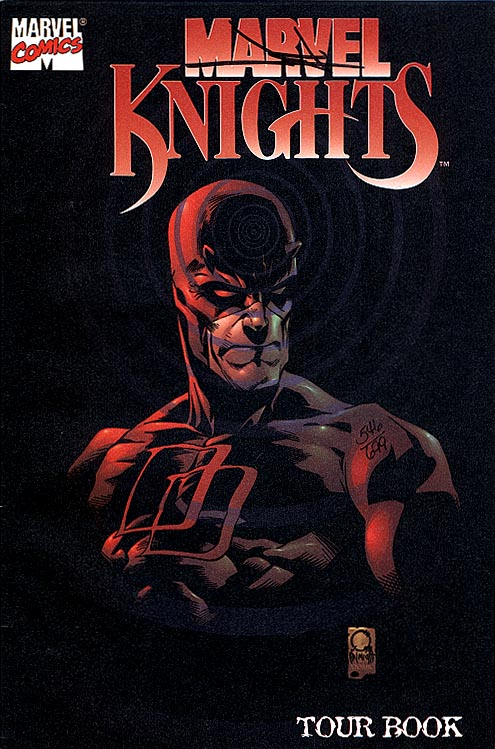 Marvel Knights Tour Book (DF Signed By Jae Lee 1 of 699 )