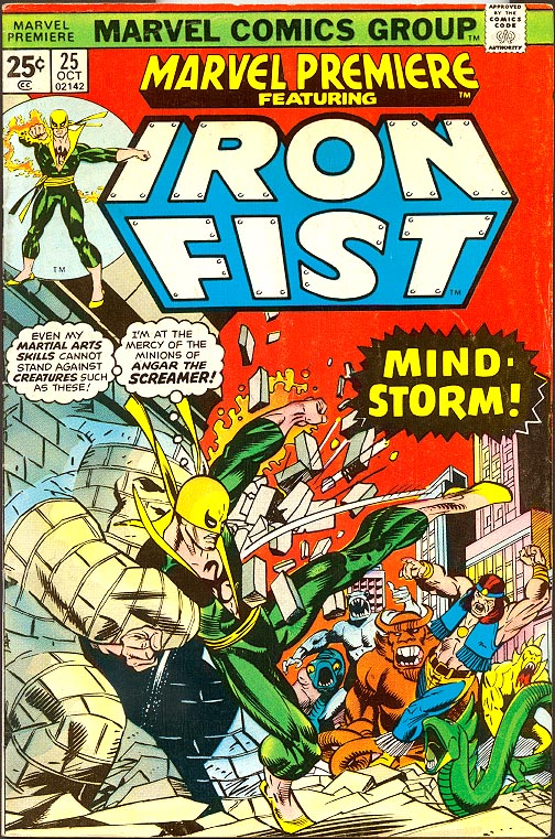 Marvel Premiere Iron Fist 25