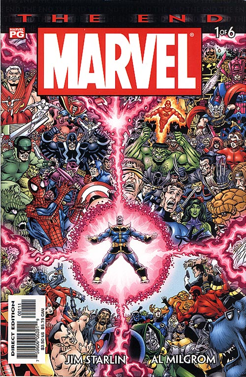 Marvel The End 1 (of 6 )