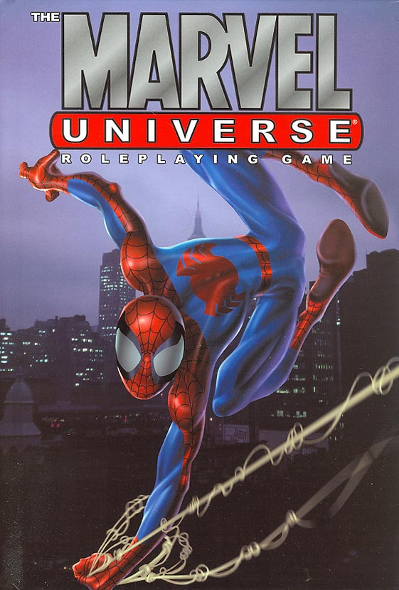 Marvel Universe Role Playing Guide HC