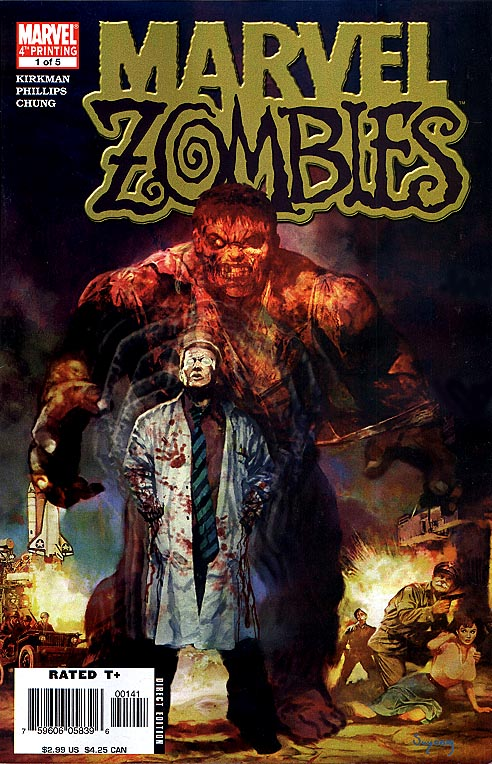 Marvel Zombies 1 (of 5 ) (Fourth printing)