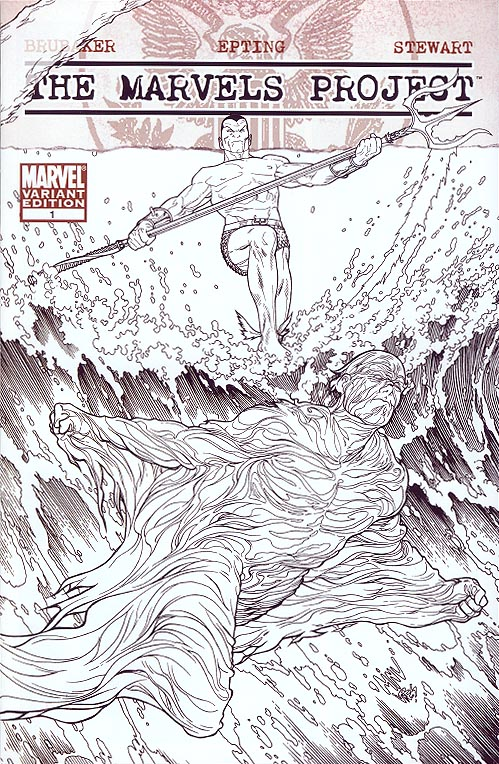 Marvels Project 1 (of 8 ) ( 1 in 70 Incentive Sketch Steve Mc Niven Variant)