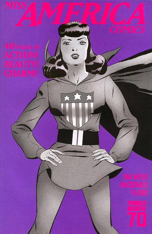 Miss America Comics 70 th Anniversary Special 1 ( 1 in 15 Incentive Marcos Martin Variant)