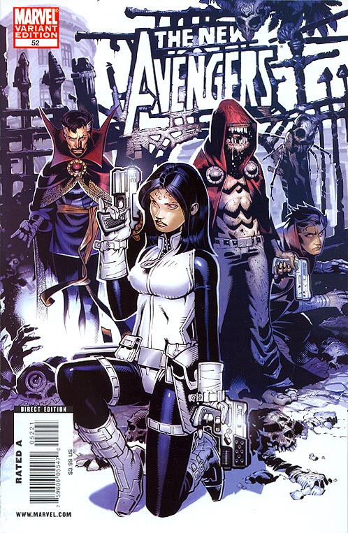 New Avengers 52 ( 1 in 15 Incentive Chris Bachalo Variant)