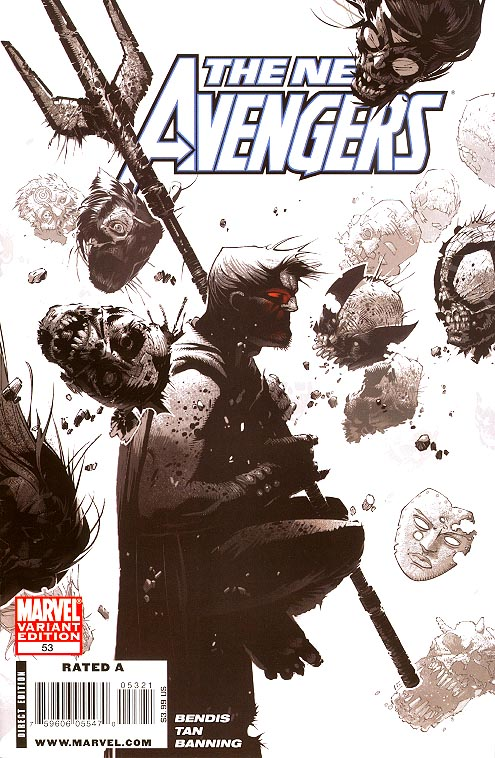 New Avengers 53 ( 1 in 15 Incentive Bachalo Sketch Variant)