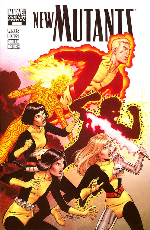 New Mutants vol 3 - 1 ( 1 in 15 Incentive Mc Leod Variant)