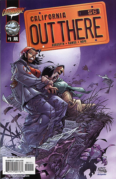 Out There 1 (Carlos Meglia 1 in 4 variant cvr)
