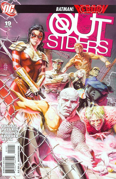 Outsiders vol 4 - 19 ( 1 in 10 Incentive Variant)