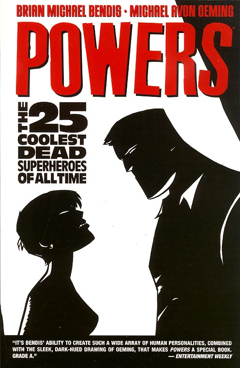 Powers vol 12 The 25 Coolest Dead Superheroes Of All Time TP