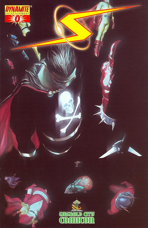 Project Superpowers 0 (Alex Ross Emerald City Comic Con 2008 Variant)