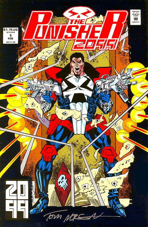 Punisher 2099 1 (Signed By Morgan)