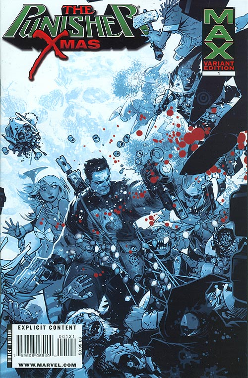 Punisher Max X-Mas Special 1 (Bloody Variant)