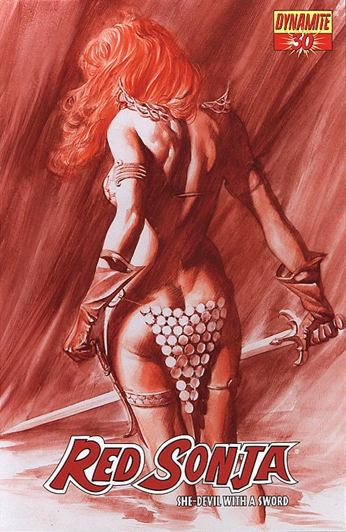 Red Sonja (Dynamite Ent) 30 A (Alex Ross Cvr)
