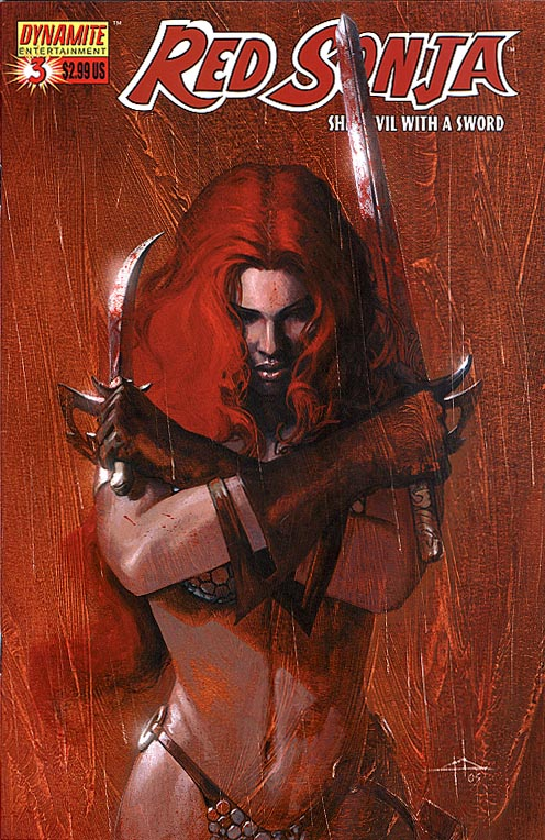 Red Sonja (Dynamite Ent) 3 A
