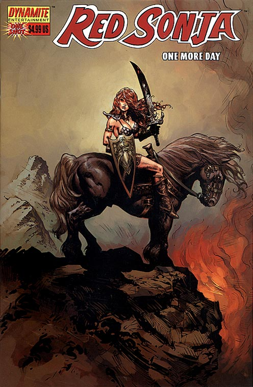 Red Sonja (Dynamite Ent) One More Day (Cover A)