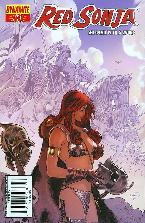 Red Sonja 40 C (Paul Renaud Cover)