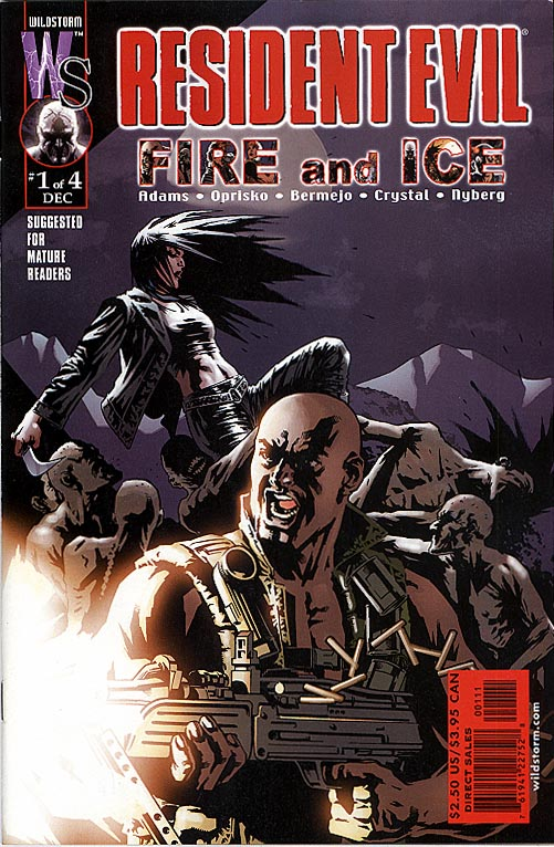 Resident Evil Fire and Ice (Wildstorm DC) 1 (of 4 )