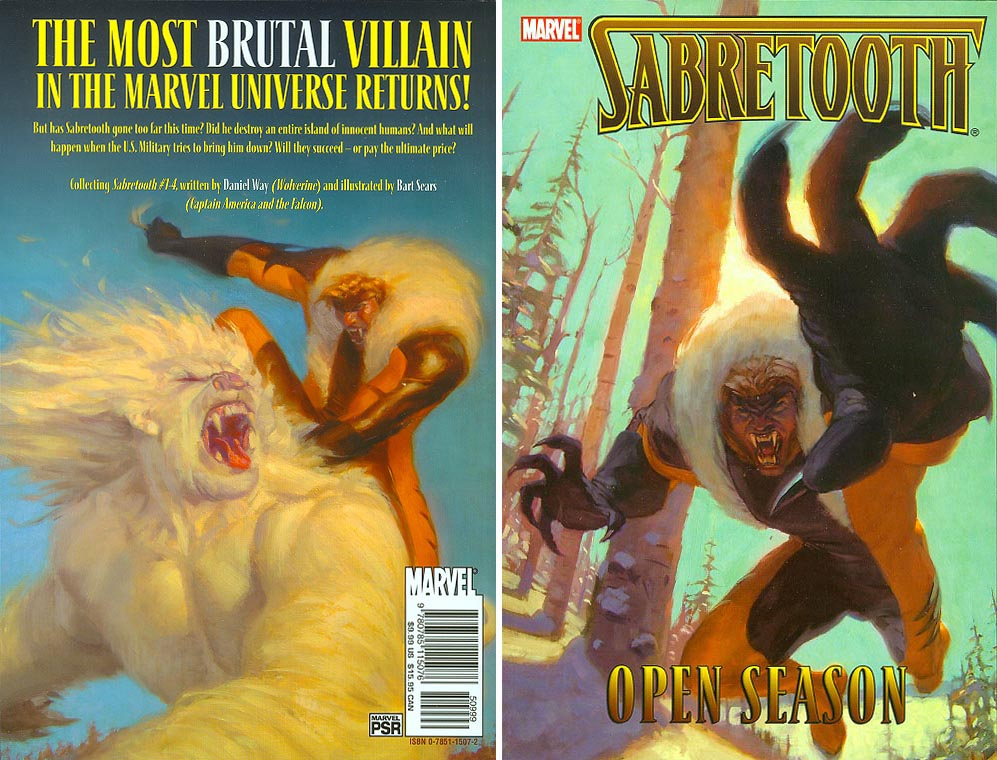 Sabretooth Open Season GN 1