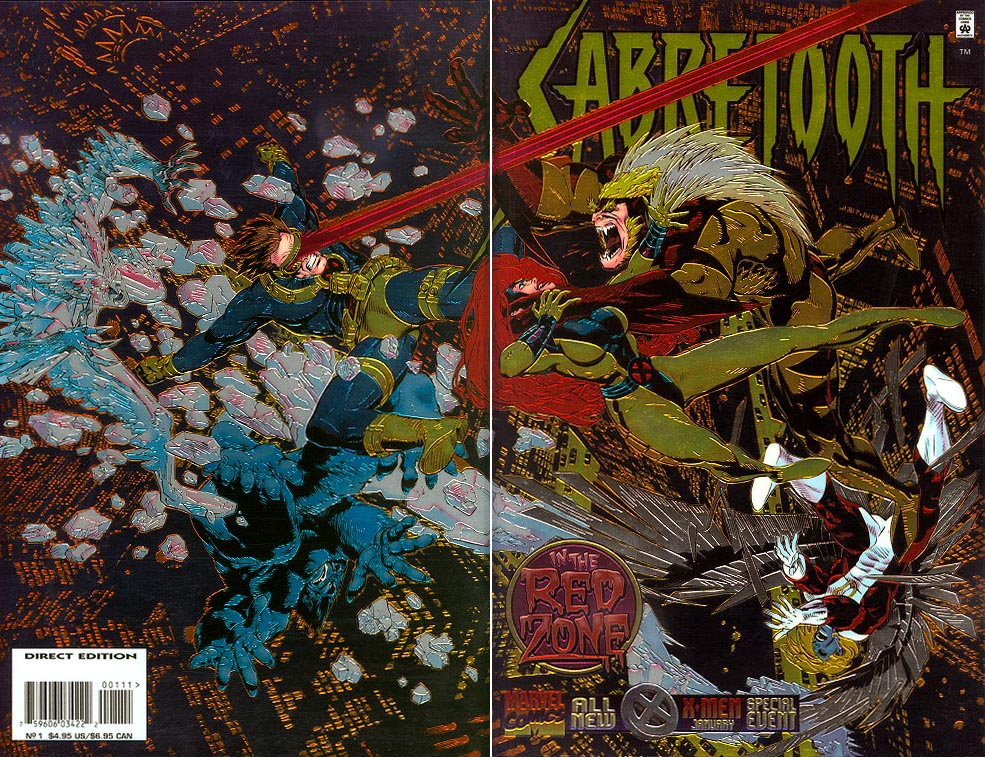 Sabretooth Special (In The Red Zone) 1 (Chromium Variant Wrap Cvr)