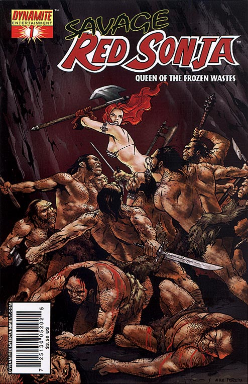 Savage Red Sonja 1 C (of 4 ) (Homs Cover)