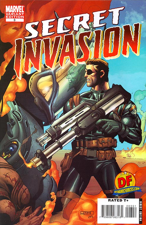 Secret Invasion 3 (of 8 ) (DF Excl Mel Rubi Variant 1 of 2499 )