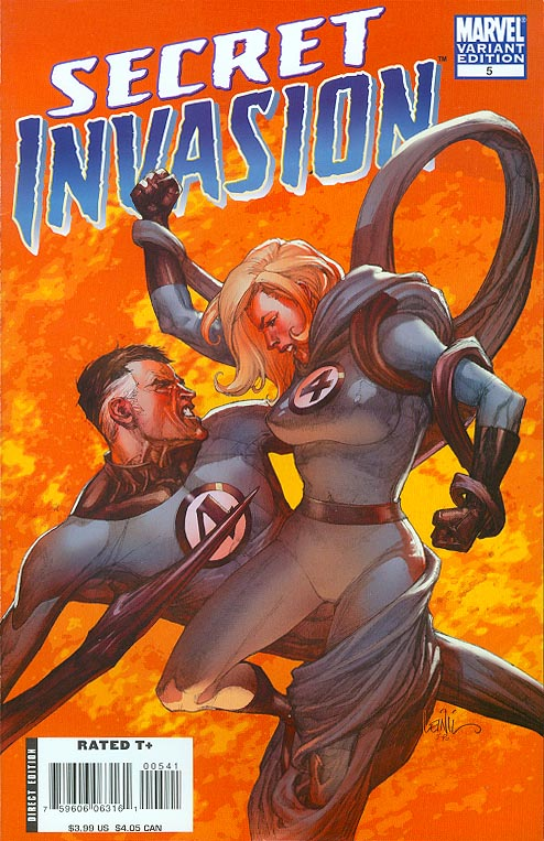 Secret Invasion 5 (of 8 ) ( 1 in 20 Incentive Leinil Francis Yu Variant