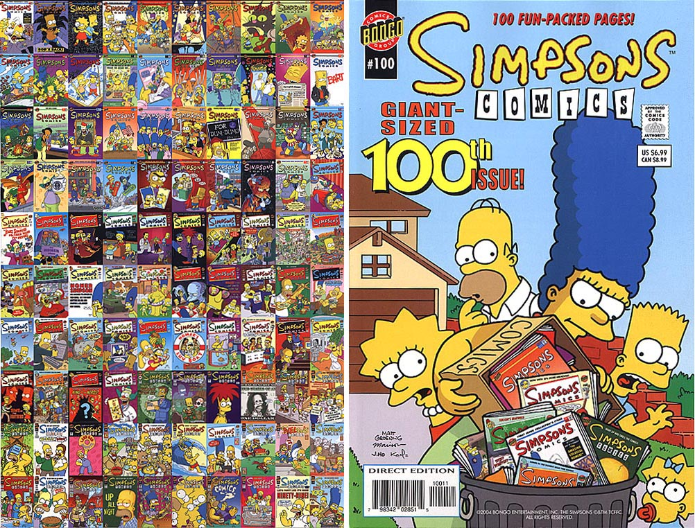 Simpsons Comics 100
