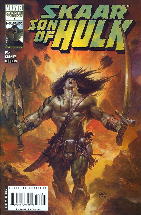 Skaar Son of Hulk 1 ( 1 in 20 Incentive Julie Bell Variant)