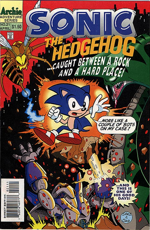 Sonic The Hedgehog 21