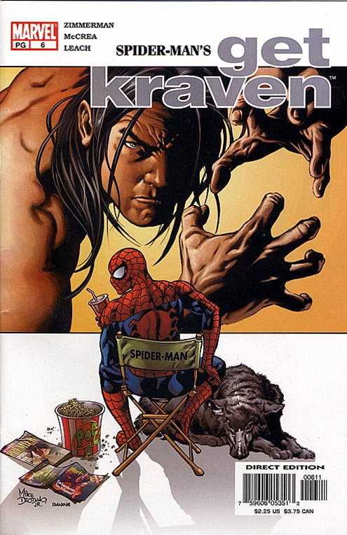 Spider-Man Get Kraven 6 (of 7 )