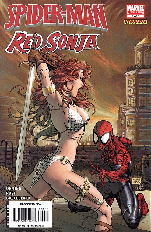 Spider-Man Red Sonja 2 (of 5 )