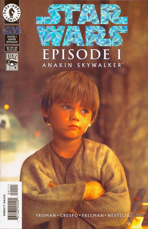 Star Wars Episode 1 Anakin Skywalker (Holofoil Photo Cover 1 of 15000 )