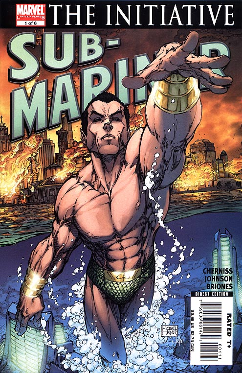 Sub Mariner vol 3 - 1 (of 6 ) (Michael Turner Cvr)
