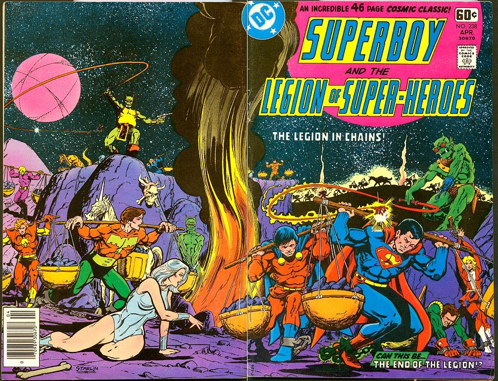 Superboy And The Legion Of Super-Heroes 238 (Wrap Cvr)