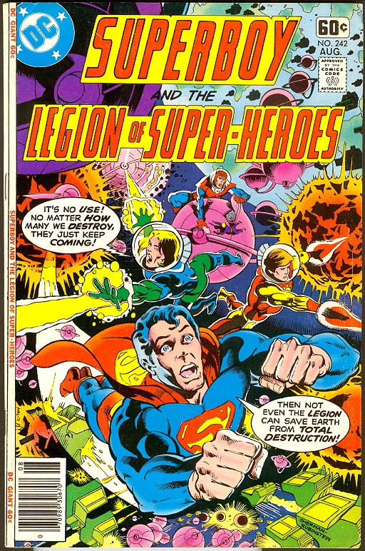 Superboy And The Legion Of Super-Heroes 242