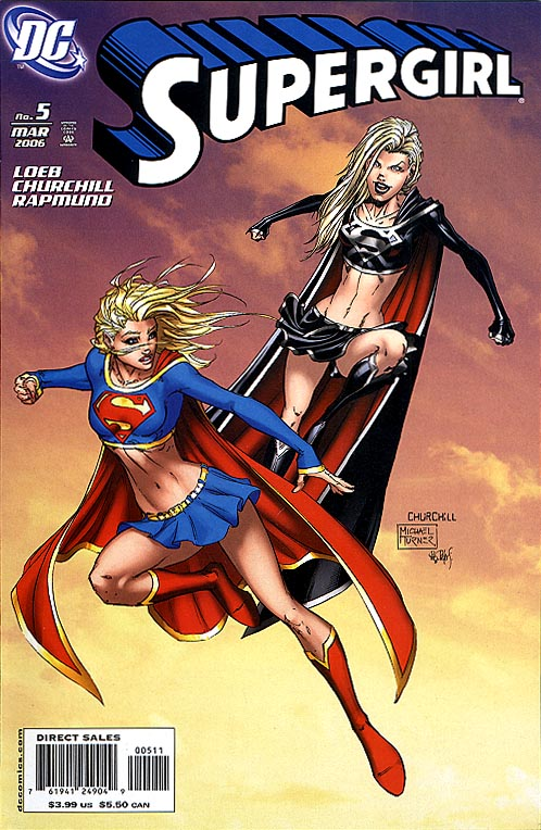 Supergirl vol 5 - 5 (Churchill Turner Cvr)