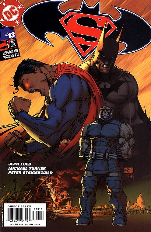 Superman Batman 13 (Michael Turner Spuerman Batman Cvr)