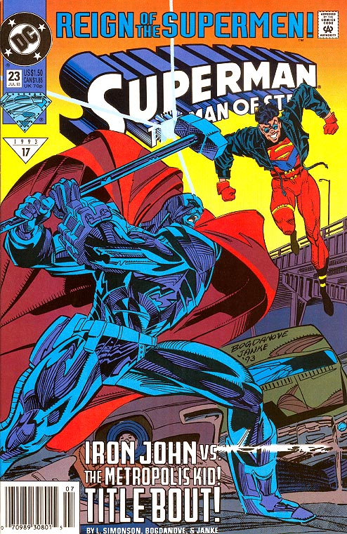 Superman The Man Of Steel 23