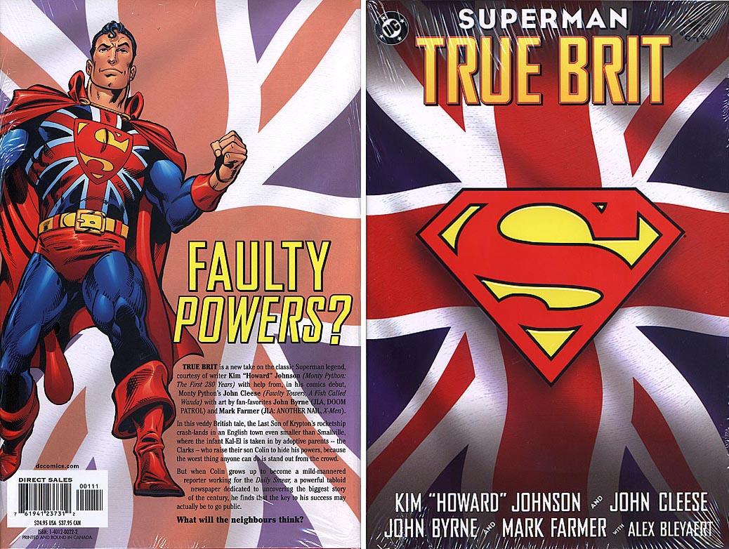 Superman True Brit HC