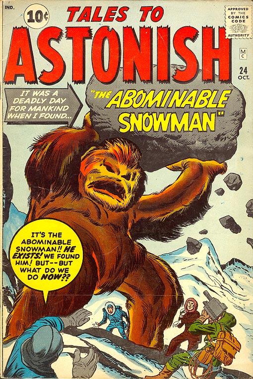 Tales To Astonish 24